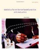 Statistics for Evidence-Based Practice and Evaluation (Research, Statistics, & Program Evalu...