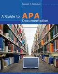 Guide to Apa Documentation
