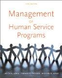 Management of Human Service Programs (SW 393T 16- Social Work Leadership in Human Services O...