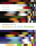 Introduction to Statistics and Data Analysis (Available Titles Aplia)