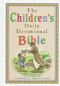 The Children's Daily Devotional Bible: Contemporary English Version (CEV)
