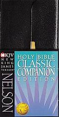 Nelsons Classic Companion Complete Bible New King James Version, Black Bonded Leather Ck Bon...