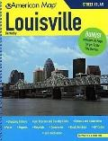 American Map Louisville Kentucky