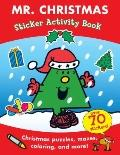 Mr. Christmas Sticker Activity Book