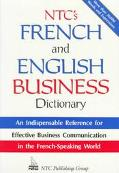 Ntc's French+english Business Dict.