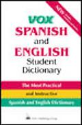 Vox Spanish and English Student Dictionary English-Spanish/Spanish-English