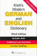 Klett's Modern German and English Dictionary