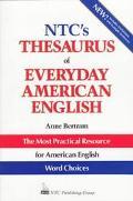 NTC's Thesaurus of Everyday American English