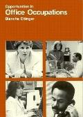 Office Occupations - Blanche Ettinger - Paperback