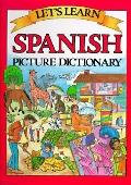 Let's Learn Spanish Picture Dictionary - Passport Books - Hardcover