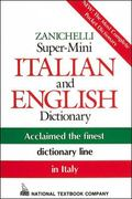 Zanichelli Super-Mini Italian and English Dictionary English-Italian, Italian-English Dictio...