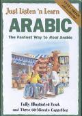 Just Listen 'N Learn Arabic, Vol. 3 - Brian Hill - Paperback - 3 Cassettes