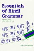 Hindi Verbs and Essentials of Grammar - Murli Dhar Srivastava - Paperback