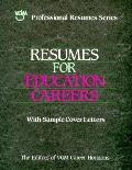 Resumes for Education Careers - Passport Books - Paperback