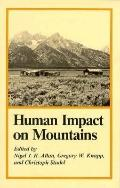 Human Impact on Mountains