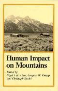 Human Impact on Mountains