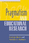 Pragmatism and Educational Research