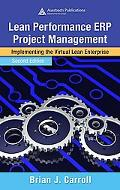 Lean Performance Erp Project Management Implementing the Virtual Lean Enterprise