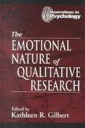 Emotional Nature of Qualitative Research