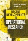 Recent Developments in Operational Research