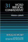 Word Biblical Commentary Hosea-Jonah