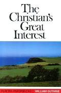 Christian's Great Interest