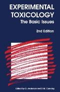 Experimental Toxicology The Basic Issues