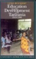 Education in the Development of Tanzania, 1919-90