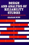 Design and Analysis of Reliability Studies