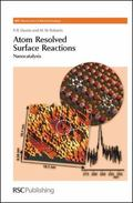 Atom Resolved Surface Reactions: Nanocatalysis