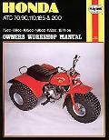 Honda Atc 70, 90, 110, 185 and 200 Manual