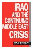Iraq and the Continuing Middle East Crisis