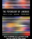 Psychology of Language From Data to Theory
