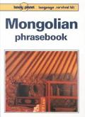 Lonely Planet Mongolian Phrasebook