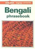 Lonely Planet Bengali Phrasebook