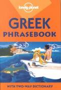 Lonely Planet Greek Phrasebook With Two-Way Dictionary