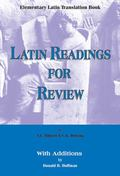 Elementary Latin Translation Book Latin Readings for Review