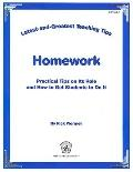 Latest & Greatest Teaching Tips: Homework Foldout (Latest & Greatest Teahing Tips)
