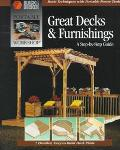 Portable Workshop Great Decks - Cowles Creative Publishing