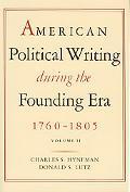 America Pol Writing - Paperback