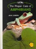 Proper Care of Amphibians - John Coborn - Hardcover