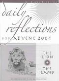 Daily Reflections For Advent 2004 The Lion And The Lamb