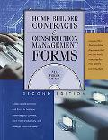 Home Builder Contracts & Construction Management Forms