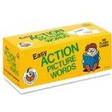 Easy Action Picture Words (Phonics Flash Cards)