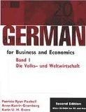 German for Business and Economics Die Volks-Und Welwirtschaft