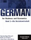 German for Business and Economics Die Betriebswirtschaft Business