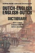 Dutch-English/English-Dutch Concise Dictionar