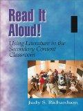 Read It Aloud! Using Literature in the Secondary Content Classroom