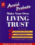 Make Your Own Living Trust - Denis Clifford - Paperback - REVISED
