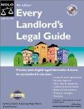 Every Landlord's Legal Guide - Marcia Stewart - Paperback - 4th